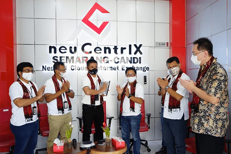 Peluncuran neuCentrIX Candi Semarang
